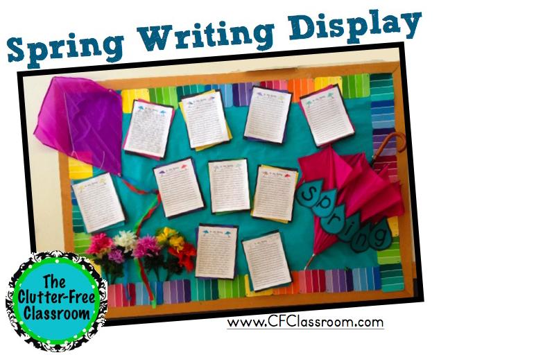 Spring Bulletin Board Ideas Clutter Free Classroom By Jodi Durgin