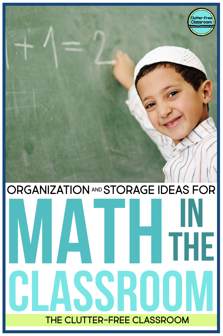 Math manipulatives at math centers and math stations end up everywhere during math workshop, guided math, and other hands-on learning opportunities! Read this blog post to find out how I found storage solutions that actually work like containers, bins, baskets, tubs, drawers, shelves, and more.