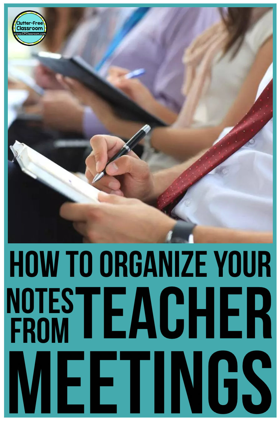 Staff / faculty, data, committee, IEP, 504, planning... SO. MANY. MEETINGS. Read to find out how to manage all of the paper and notes from these meetings using technology at this blog post.