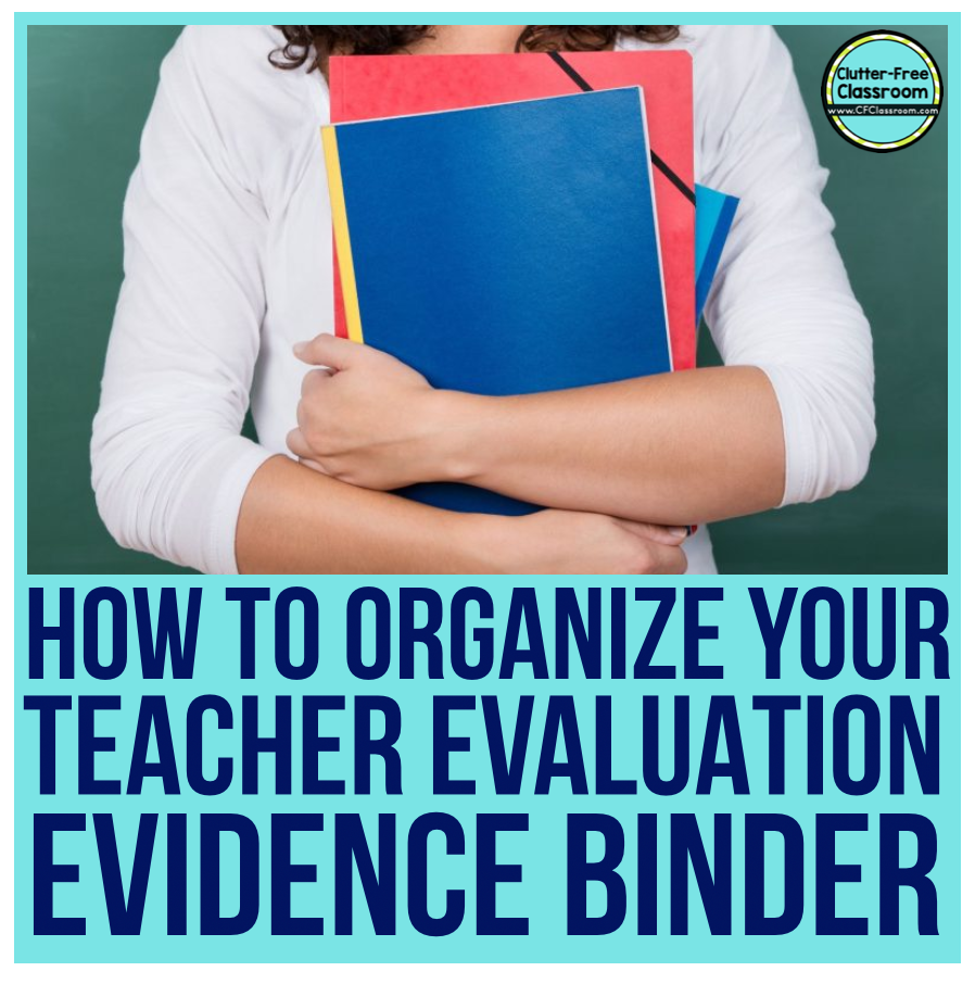 Oh the dreaded teacher evaluation binder! Read to find out how to make the evaluation portfolio process easier.