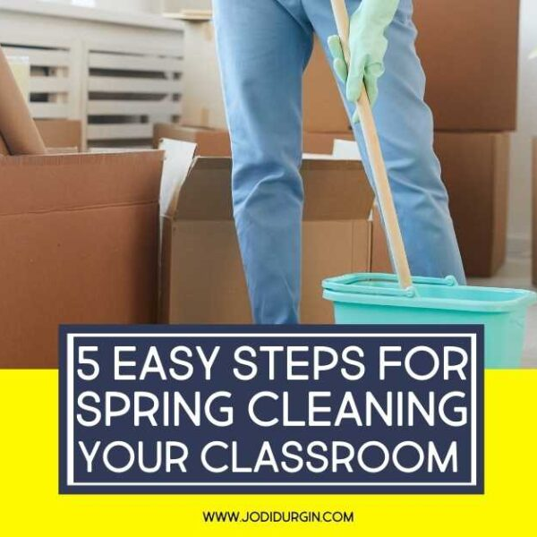 how to clean a classroom