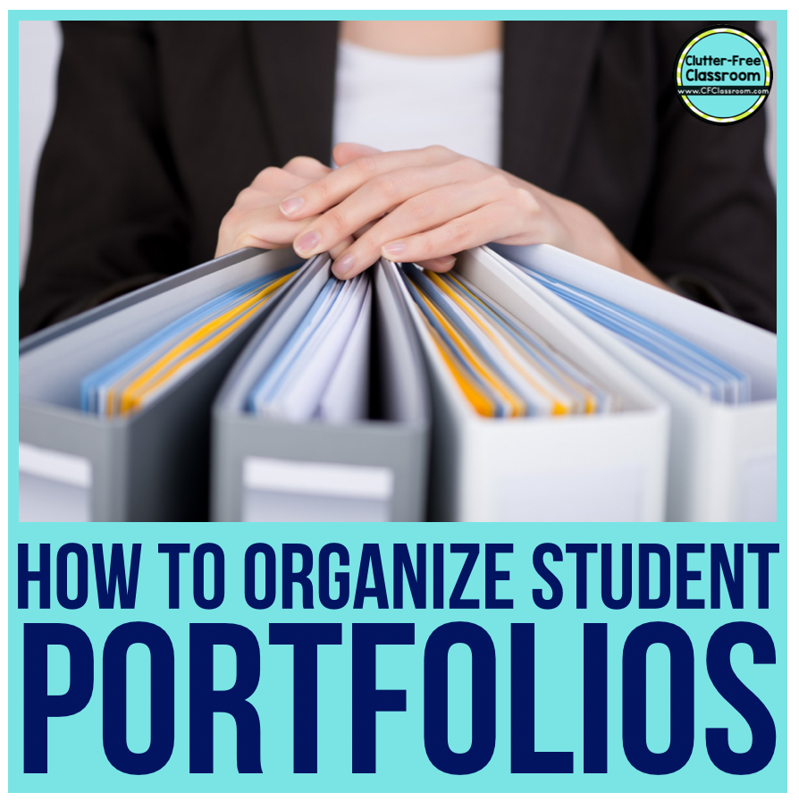 Student portfolios are a great way to document student growth.