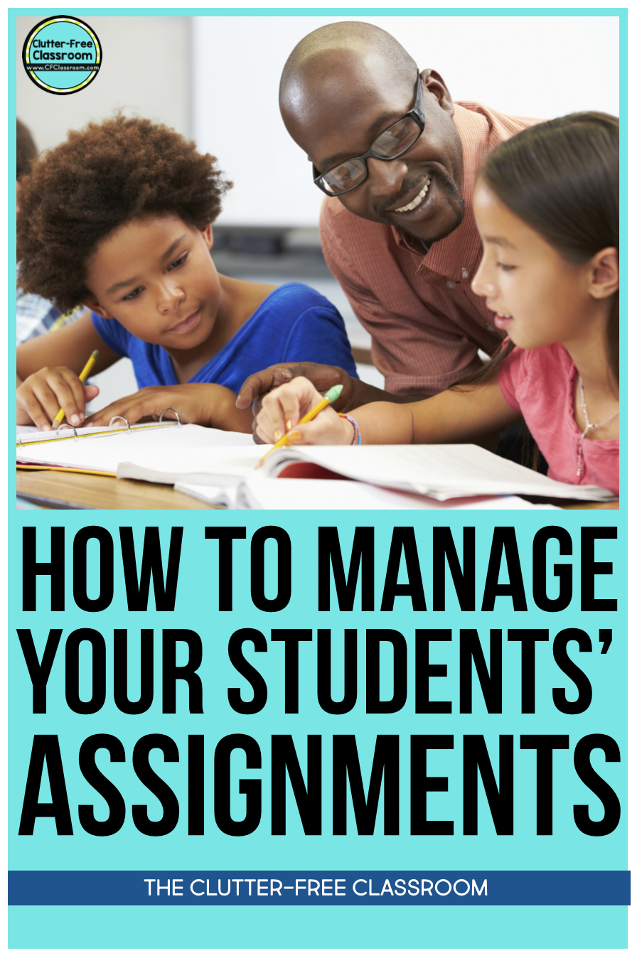 Check out these easy classroom organization tips and strategies for how to manage paper and student assignments through using must do and may do activities, student work boards, fast finisher activities, long term projects, packets, printables, and more!