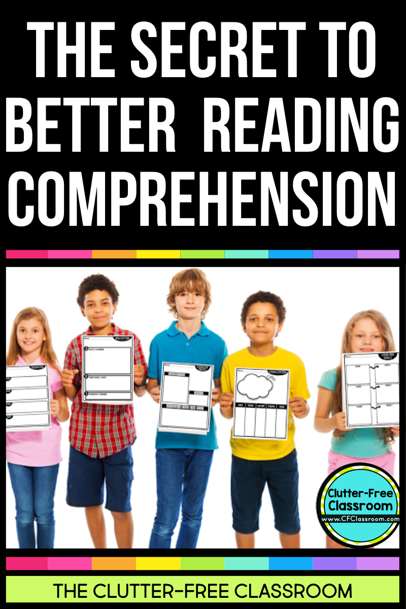Would you like to improve your students' reading and writing skills? Using graphic organizers for reading comprehension will make it easier for students to make sense of what they are reading, organize their thinking, and strengthen their writing abilities as well. This post explains how.