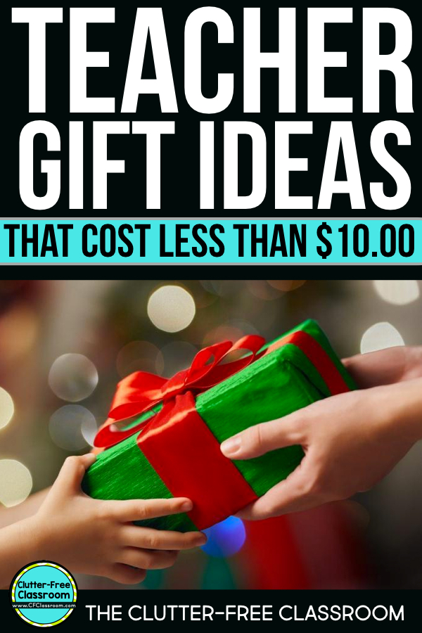 Teacher gifts for Christmas from kids can be practical, inexpensive, and easy. Rather from class as a whole or a student, these cheap and useful Teacher Christmas gift ideas will be well-received by male and female teachers. If you want something not homemade or DIY that doesn't include gift cards or a mason jar this list is for you.