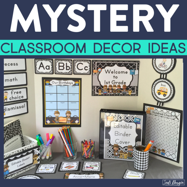 mystery classroom decor ideas
