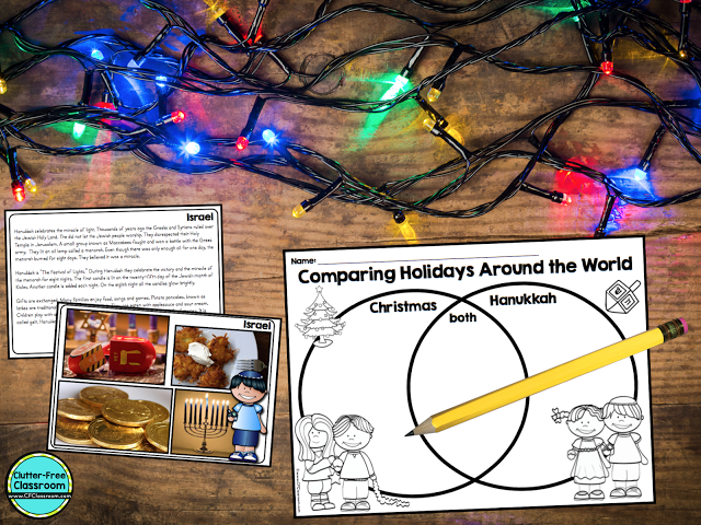 Are you looking for ideas and free resources for a Holidays Around the World Unit? Here you'll find tips and links to make planning easy.