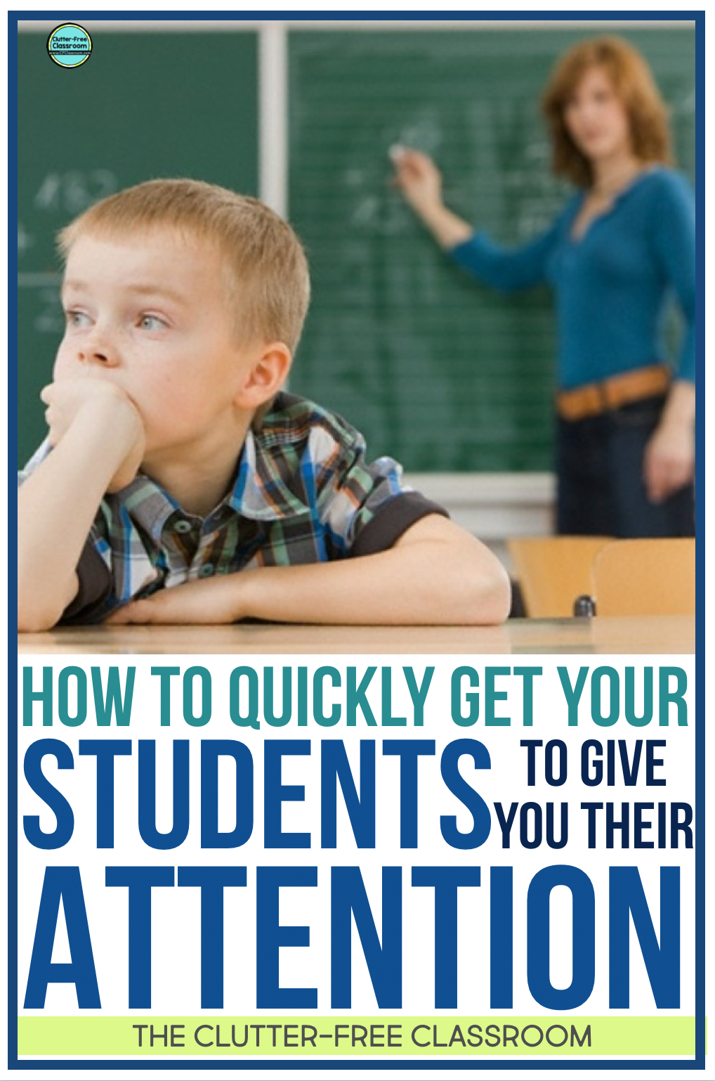 Every classroom needs attentions getters or grabbers to promote classroom management. These strategies could be catchy phrases or non verbal. Create an anchor chart for your kids so they remember the procedures and routines.