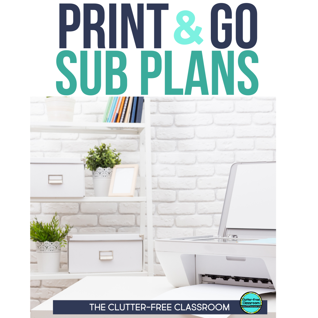 I used to hate writing sub plans whenever I took a sick day. Thankfully I just got this bundle of sub plans that are little to no prep. It includes graphic organizers, worksheets and activities you can leave again and again making classroom management easy for a substitute teacher. The directions are clear and easy to understand. Every teacher should have this resource! #teachertips #subplans #sickday