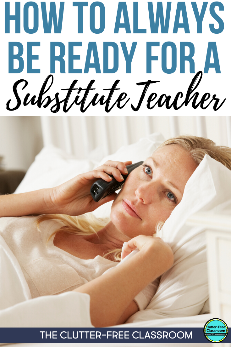 The next time I need to take a sick day I am going to have no problem writing sub plans. I got this resource from The Clutter-free Classroom that is full of activities to leave for a sub. Many of them require no prep because they are simple enough to be used over and over. My students will love using the games, worksheets, and graphic organizers. You will want to check this resource out yourself! #substituteteacher #subplans #elementaryteaching