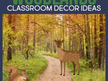 woodlands classroom decor ideas