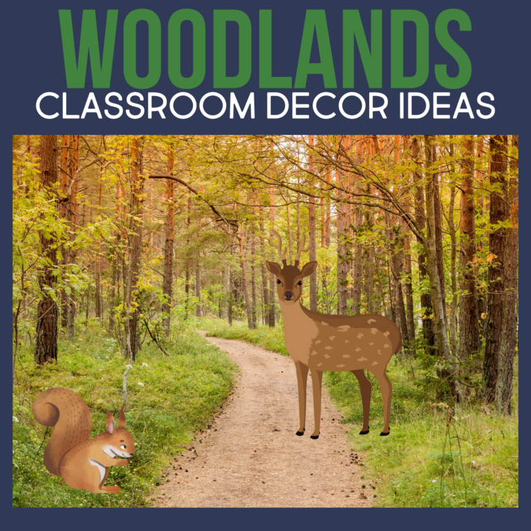 woodlands classroom decor ideas