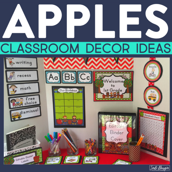 apple classroom decor ideas