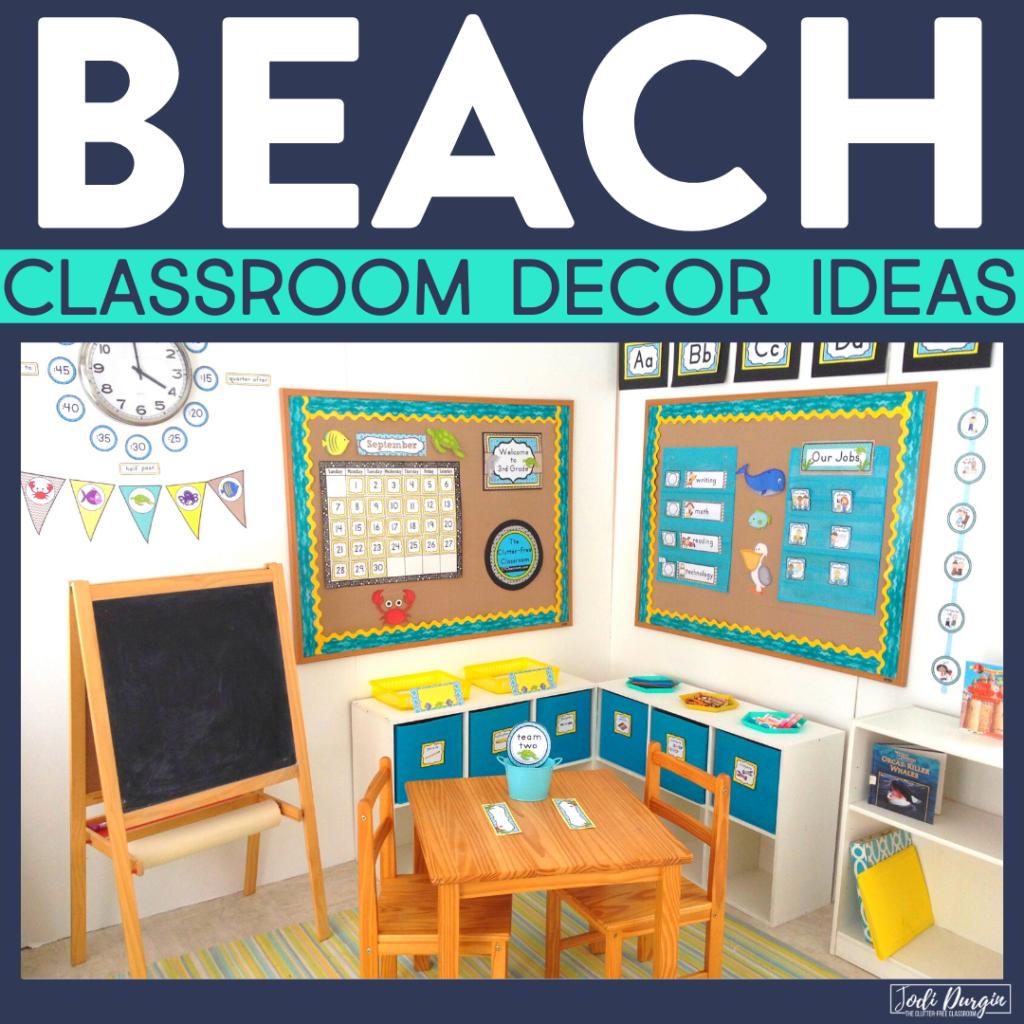 beach classroom decor ideas