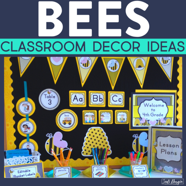 bee classroom decor ideas