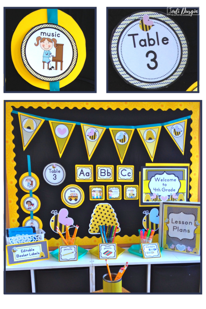 Bees Classroom Theme Jodi Durgin Education Co