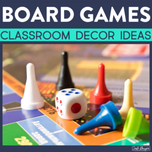 board game classroom decor ideas