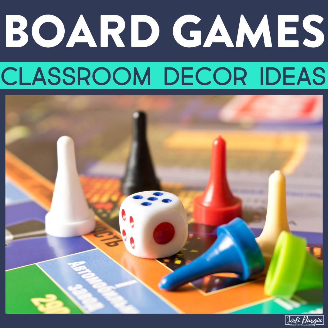 board game classroom decor ideas