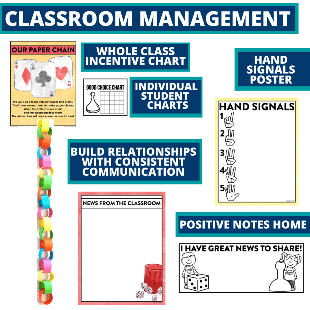 board games themed tools for improving student behavior in an elementary classroom