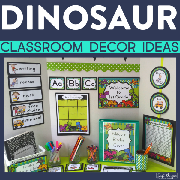 dinosaur classroom decor ideas