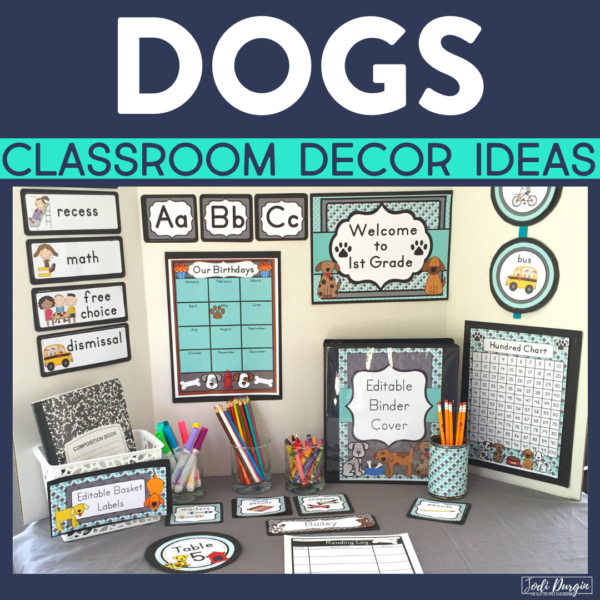 dog classroom decor ideas