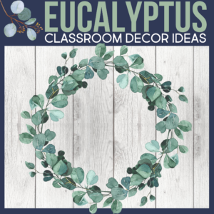 eucalyptus as a classroom theme for elementary teachers