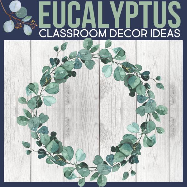 eucalyptus as a classroom theme for elementary teachers