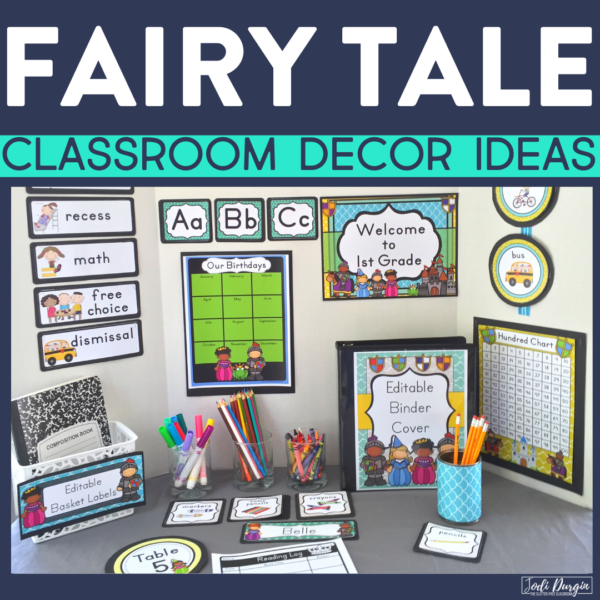 fairy tale classroom decor ideas
