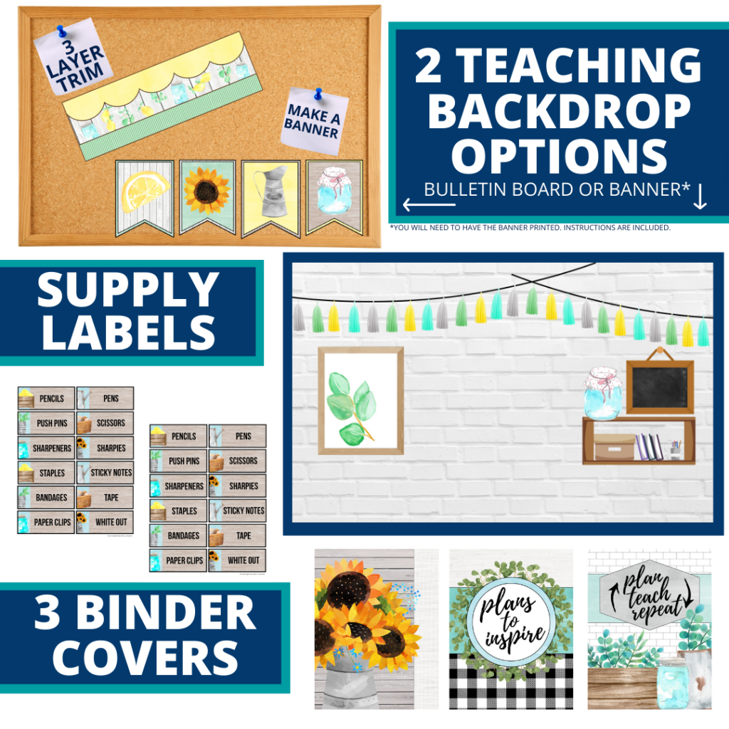 farmhouse themed background for a cheap and easy online teaching or a VIP kid backdrop