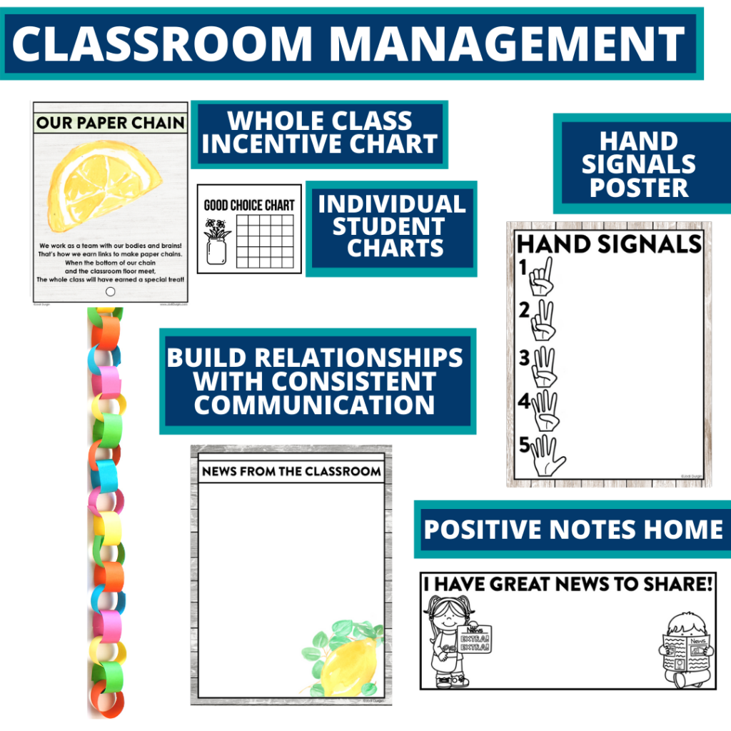 armhouse themed tools for improving student behavior in an elementary classroom