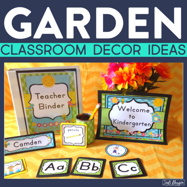 garden classroom decor ideas