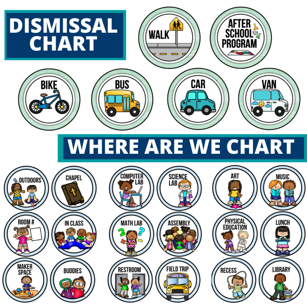 gnome theme editable dismissal chart for elementary classrooms with for better classroom