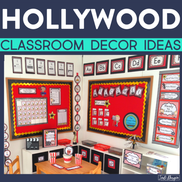hollywood classroom decor ideas