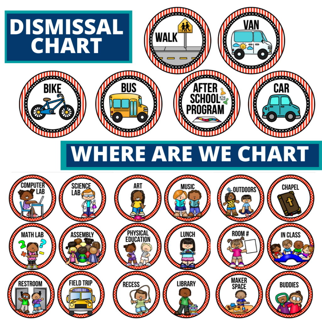hollywood theme editable dismissal chart for elementary classrooms with for better classroom