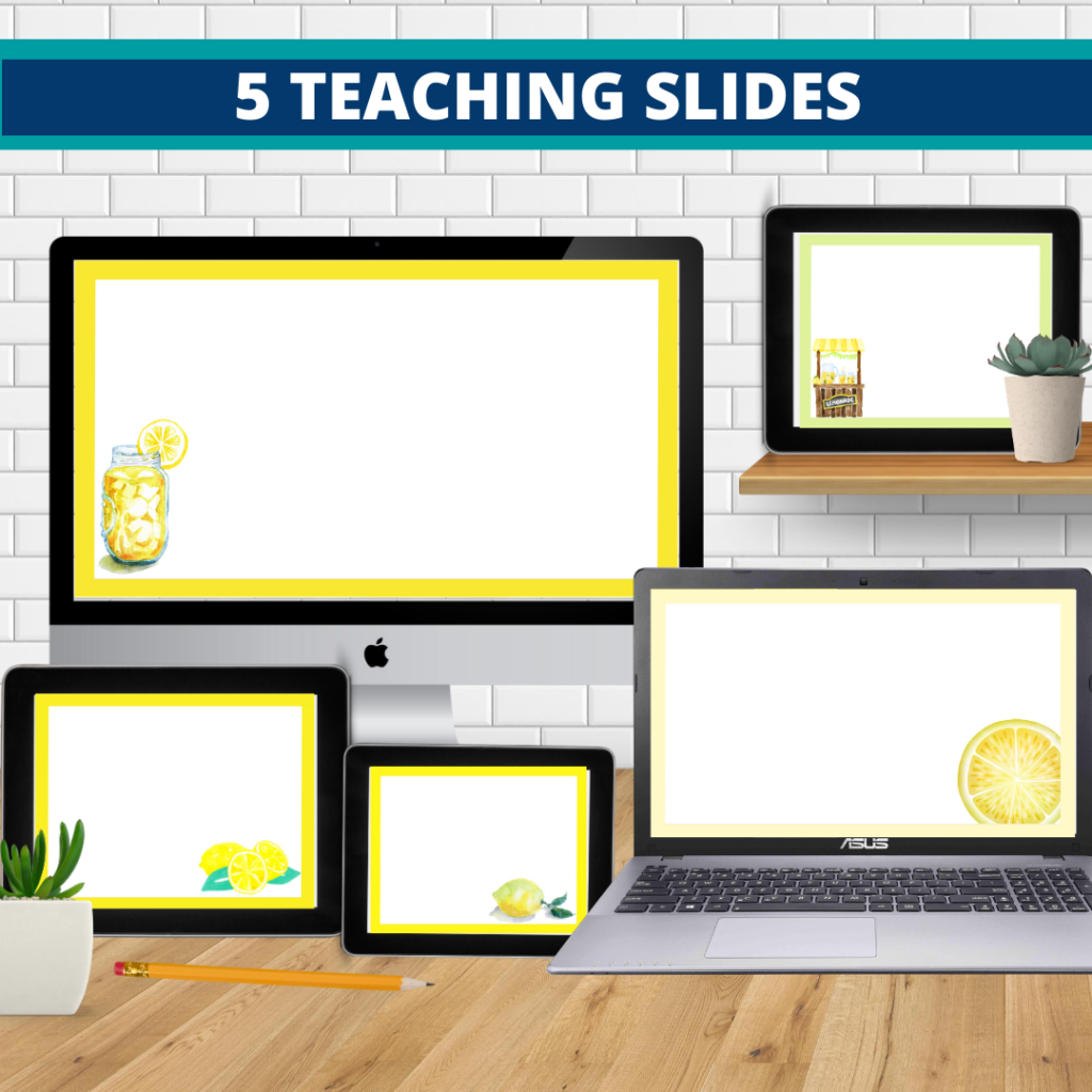 lemons classroom themed google classroom headers and google classroom banners