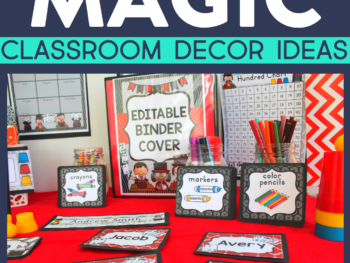 magic classroom decor ideas