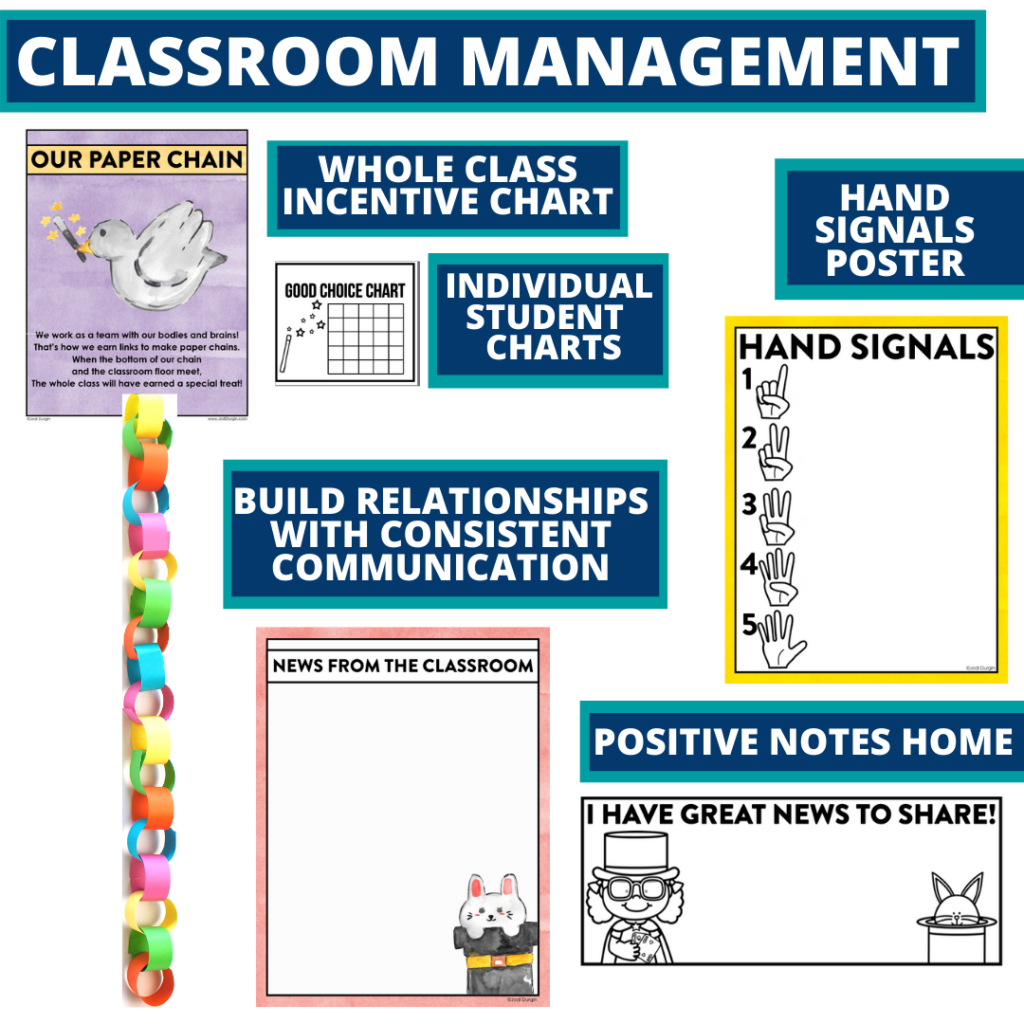 magic themed tools for improving student behavior in an elementary classroom