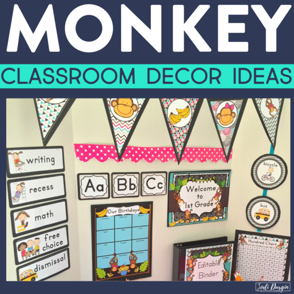 monkey classroom decor ideas