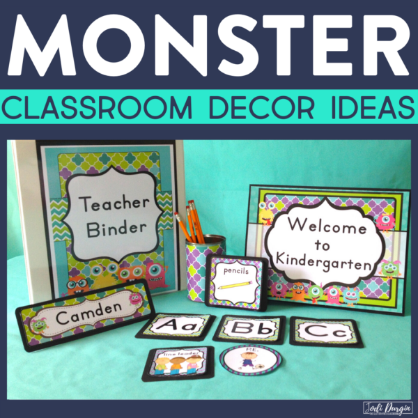monster classroom decor ideas