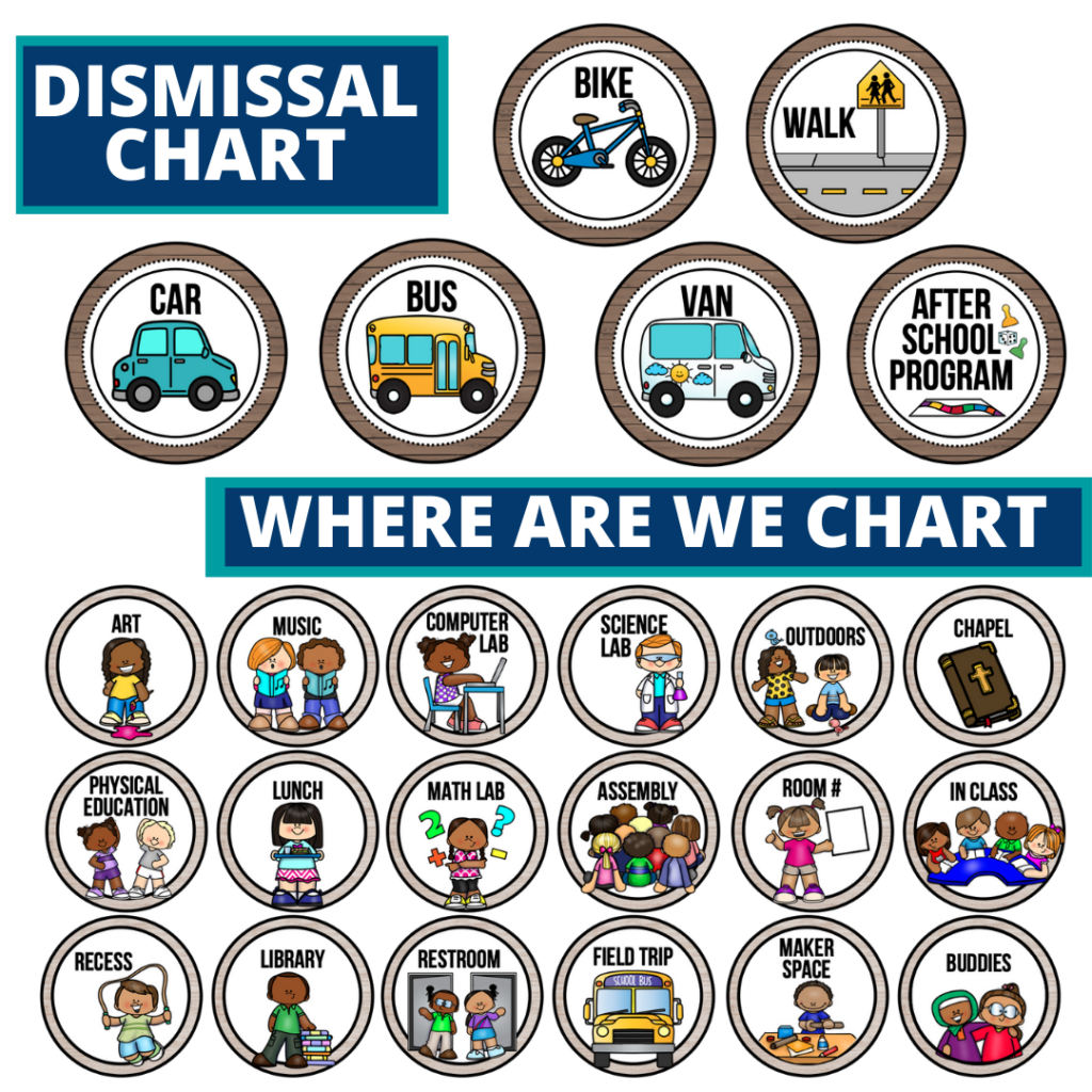 mountains theme editable dismissal chart for elementary classrooms with for better classroom