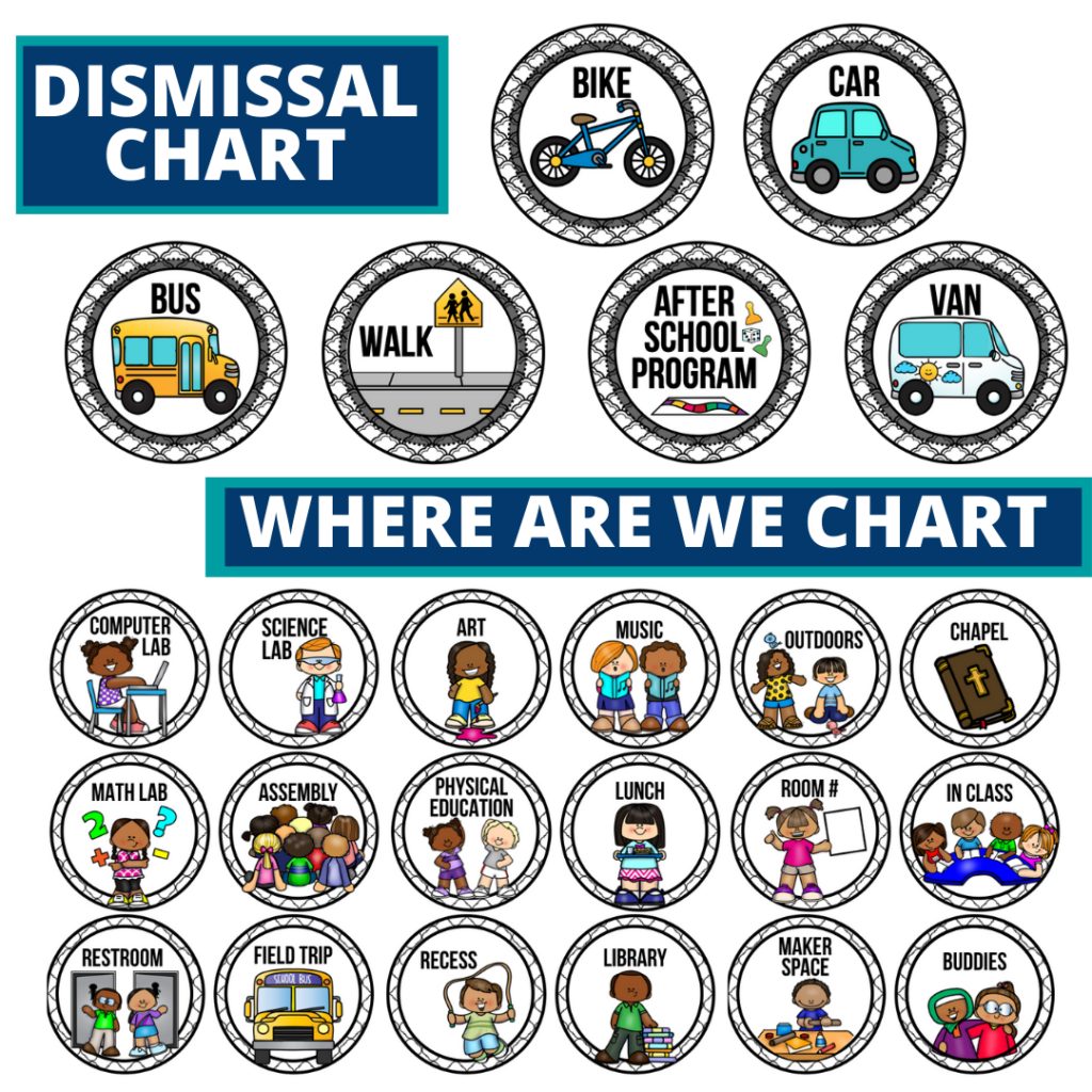 mystery theme editable dismissal chart for elementary classrooms with for better classroom