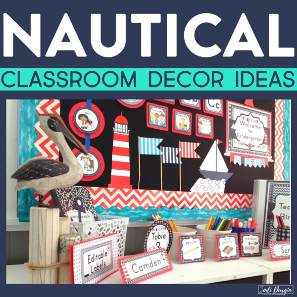 nautical classroom decor ideas