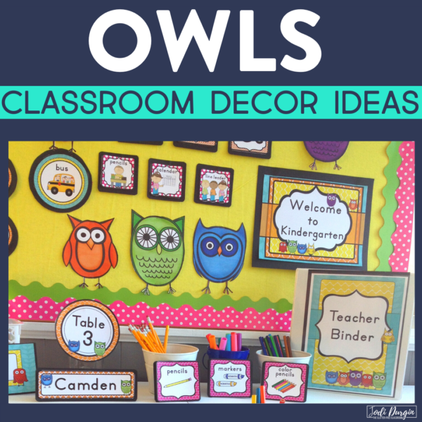 owl classroom decor ideas
