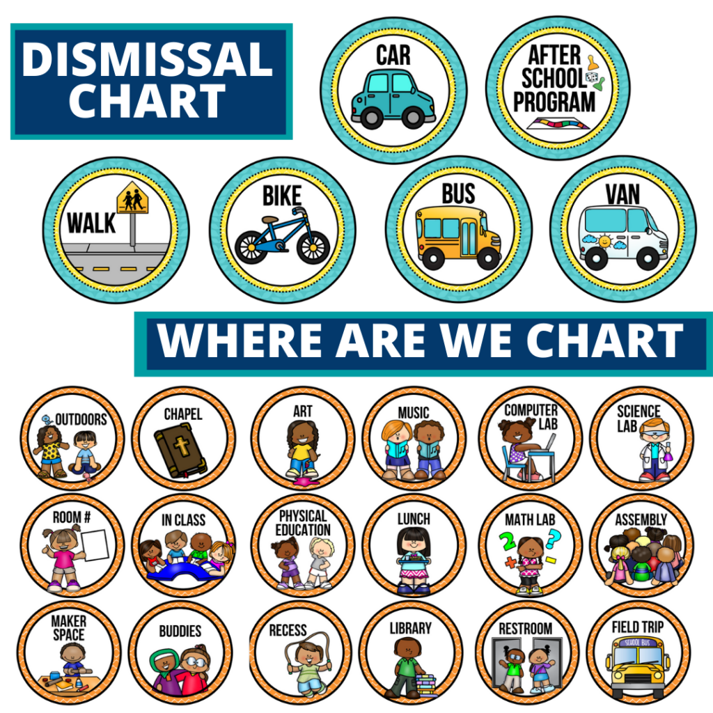 owls theme editable dismissal chart for elementary classrooms with for better classroom