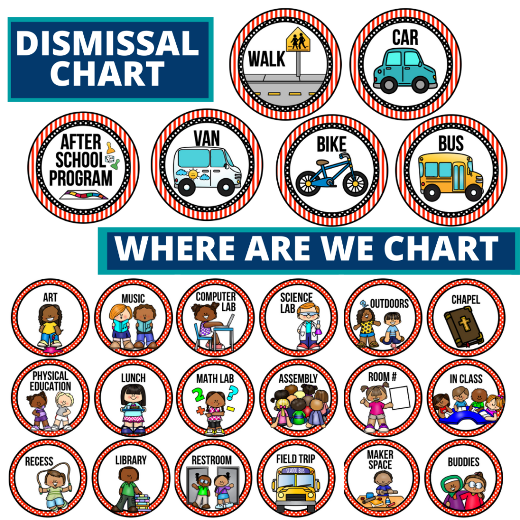 pirates theme editable dismissal chart for elementary classrooms with for better classroom