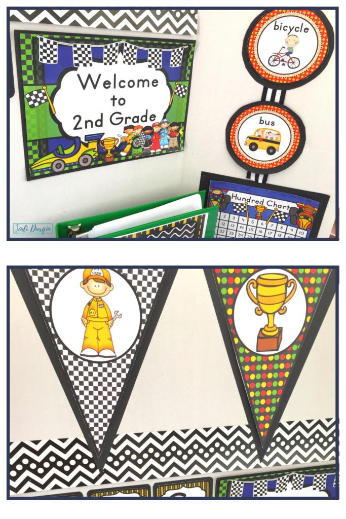 Racing Classroom Theme Ideas Jodi Durgin Education Co