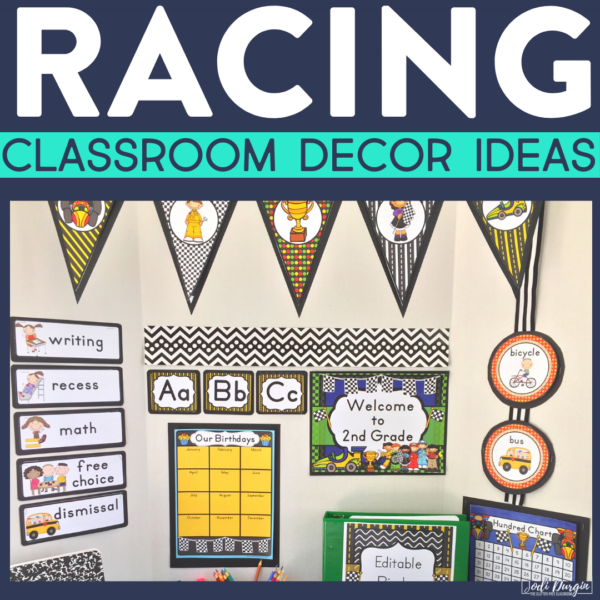 racing classroom decor ideas