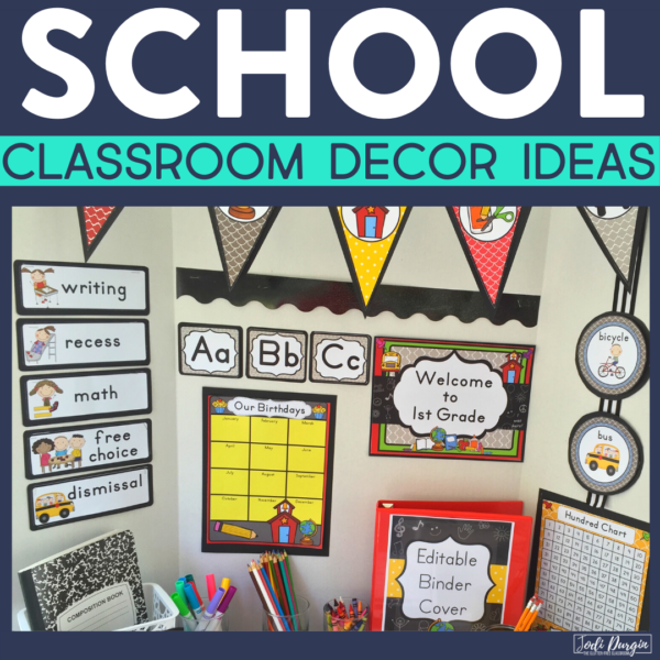 school classroom decor ideas