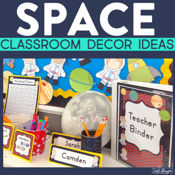 space classroom decor ideas