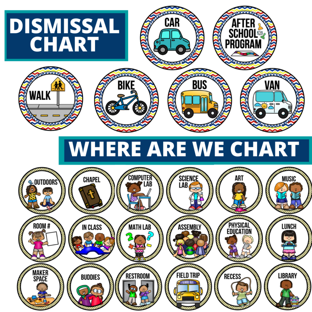 superheros theme editable dismissal chart for elementary classrooms with for better classroom